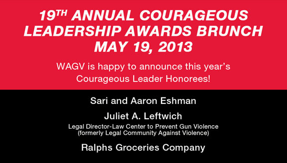 19th Annual Courageous Leadership Awards Brunch