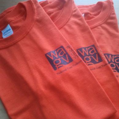 WAGV #WearingOrange T-shirt